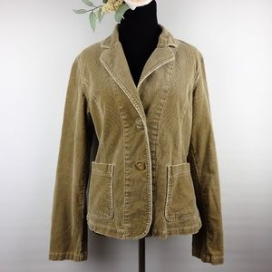 American Eagle Outfitters Tan Corduroy Jacket M